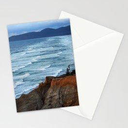 Ocean.Waves.Oregon.Coast.Sea.Rock.Cape Kiwanda. Stationery Cards