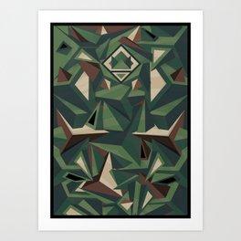 _Camouflage Art Print