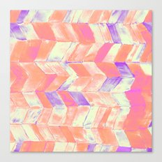 Tutti Frutti Pink Canvas Print