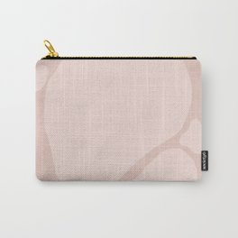 Pink Shapes Abstract Carry-All Pouch