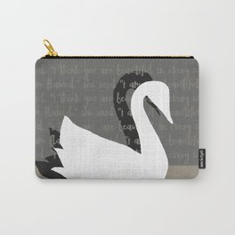 SWANS IN LOVE - Beautiful in every way Carry-All Pouch