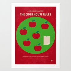 No807 My The Cider House rules minimal movie poster Art Print