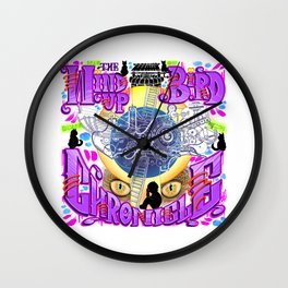 Wind-up Chronicle Wall Clock