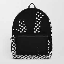 Halftone Raised Hands Backpack