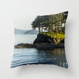 Edge of the Water Throw Pillow
