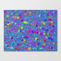 Farbenrausch Canvas Print