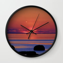 Just before Dark Wall Clock