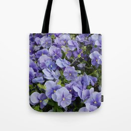 Pansy flower Tote Bag