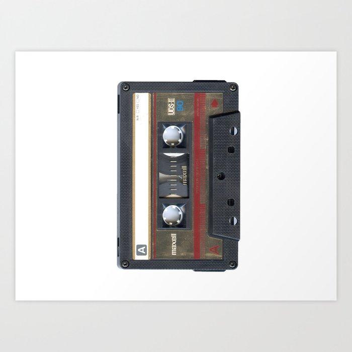 Maxwell Cassette Tape Kunstdrucke