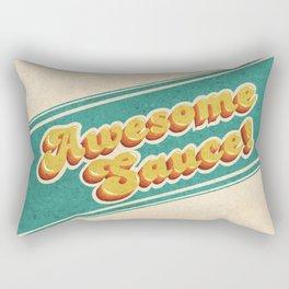 Awesome Sauce! Rectangular Pillow