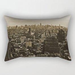 New York Skyline 3 Rectangular Pillow