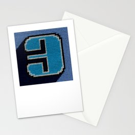 Needlepoint 3 (Three) Stationery Cards