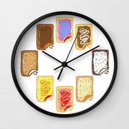 Pop Tart Pop Art Wall Clock