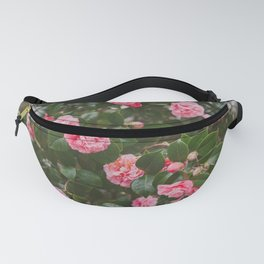 Pink Camellias Fanny Pack