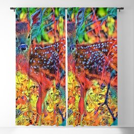 AnimalColor_Deer_001_by_JAMColors Blackout Curtain