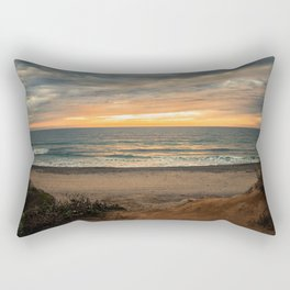 South Carlsbad State Beach Rectangular Pillow