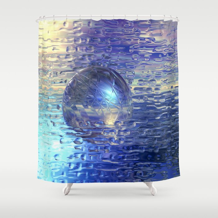 Ewiges Eis Shower Curtain