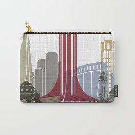 Khobar skyline poster Carry-All Pouch