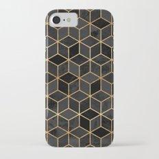 Black Cubes iPhone 7 Slim Case