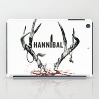 hannibal iPad Cases featuring Hannibal  by lazergo