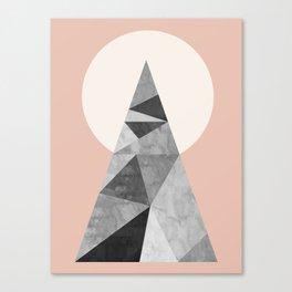 Polygon geometry XIII Canvas Print