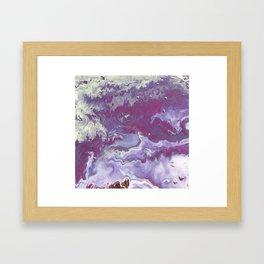 Pink Arctic Framed Art Print