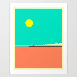 BOLIVIA Art Print