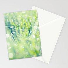 SPARKLING GRASS Stationery Cards