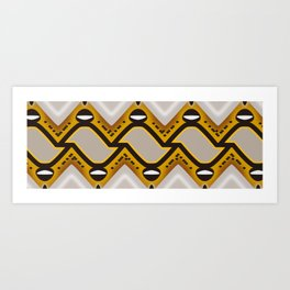 Reticulated Python Art Print