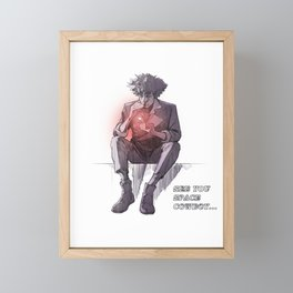 Space Cowboy's Epilogue Framed Mini Art Print