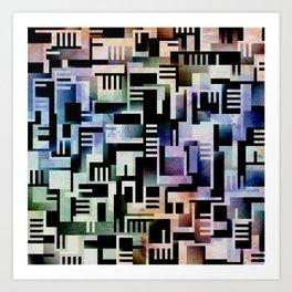 Tlaloque Art Print