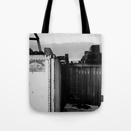 Padstow Containers Tote Bag