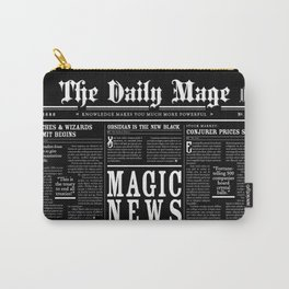 The Daily Mage Fantasy Newspaper II Carry-All Pouch