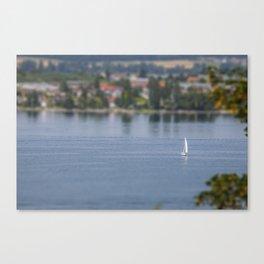 Plastic world Canvas Print