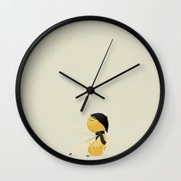 Museum Sitting Monster Wall Clock