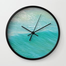 Beach photograph. Hermosa Beach. Lull Wall Clock