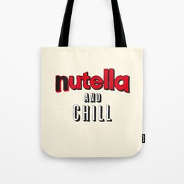 Nutella and Chill Tote Bag