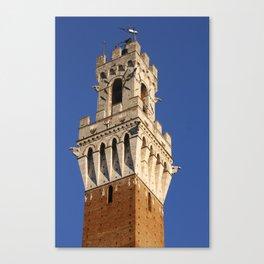 Piazza del Campo, Siena Canvas Print