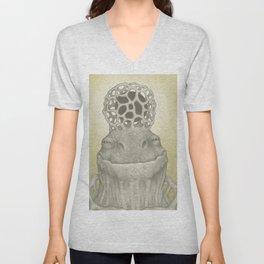 Turtle Goddess Unisex V-Neck