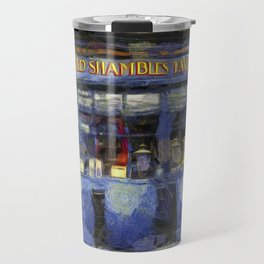 Ye Old Shambles Tavern York Art Travel Mug