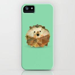 Hedgehog. iPhone Case