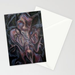 The virus as it is only inside imagination Stationery Cards