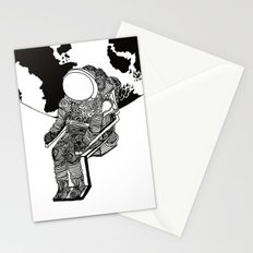 Astronaut Adrift Stationery Cards