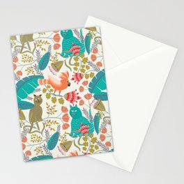 Playing Jungle Stationery Cards