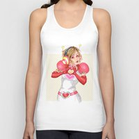valentines Tank Tops featuring Happy Valentines! by Elisa FS