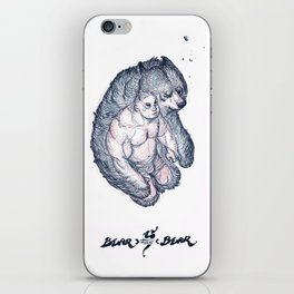 Bear x Bear V iPhone Skin