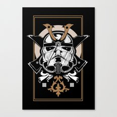 Trooper x Samurai Canvas Print