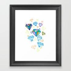 You're A Gem Framed Art Print