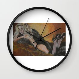 Kate Winslet 1 Wall Clock