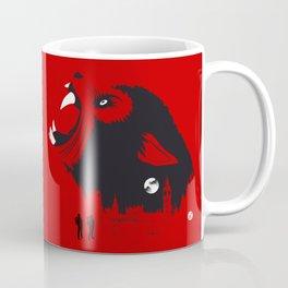 An American Werewolf (Red Collection) Coffee Mug